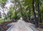 В Тюмени омолаживается сквер Юности и парк Борцов революции
