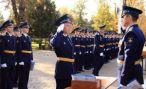 Новый набор научной роты Военно-воздушных сил России принимает присягу