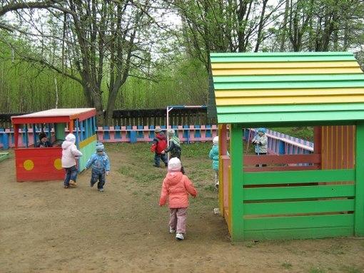 Постройки на детском участке