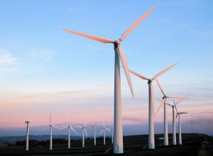 Wind-Farm-sunrise