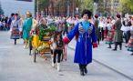 В Краснодаре весело проходит праздник молодого вина