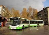 По Химках (Подмосковье) курсируют новые низкополые автобусы